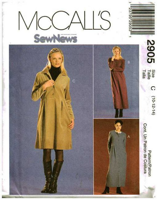 McCalls 2905