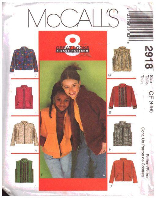 McCalls 2918