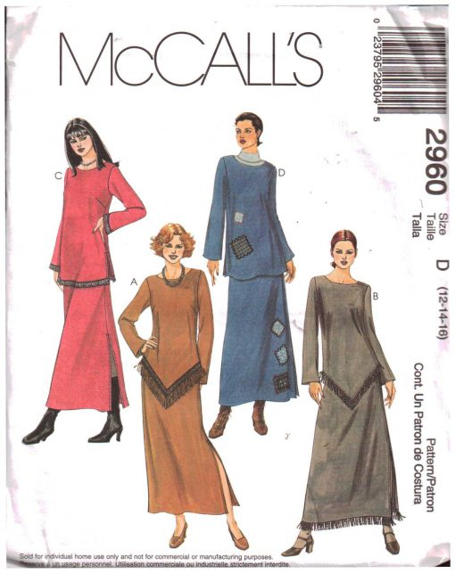 McCalls 2960 M