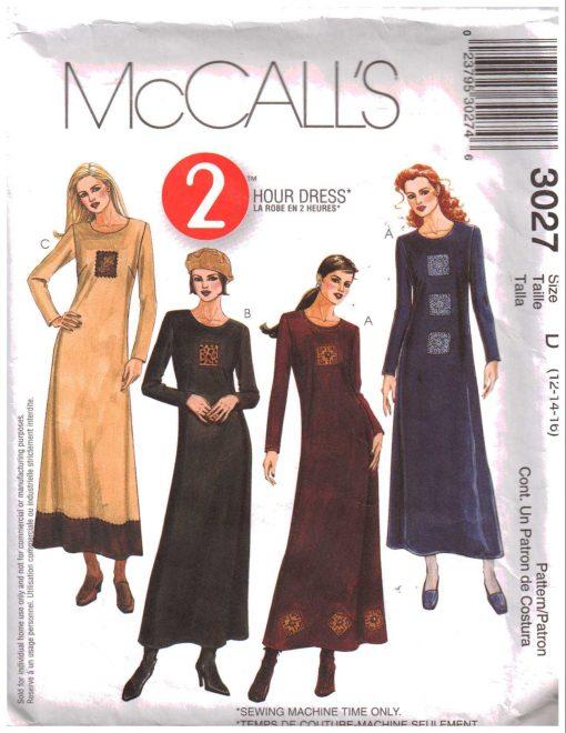 McCalls 3027 M
