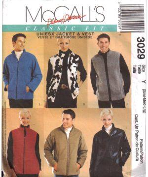 McCalls 3029 M