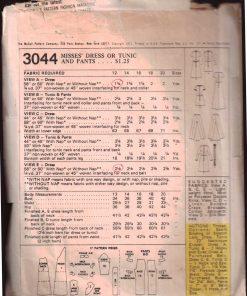 McCalls 3044 M 1