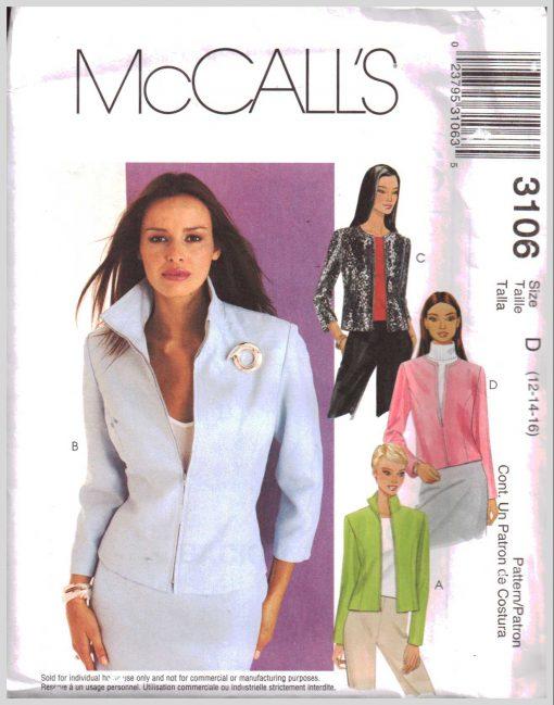 McCalls 3106