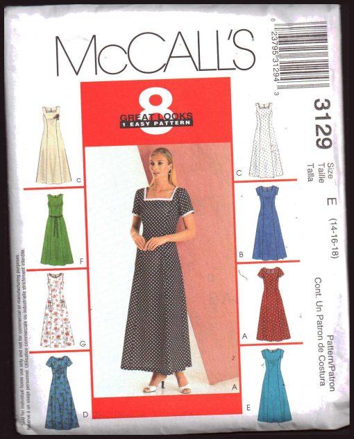 McCalls 3129 M