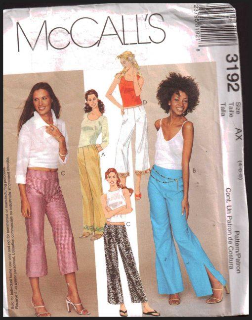 McCalls 3192 M