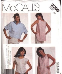 McCalls 3206 M 2