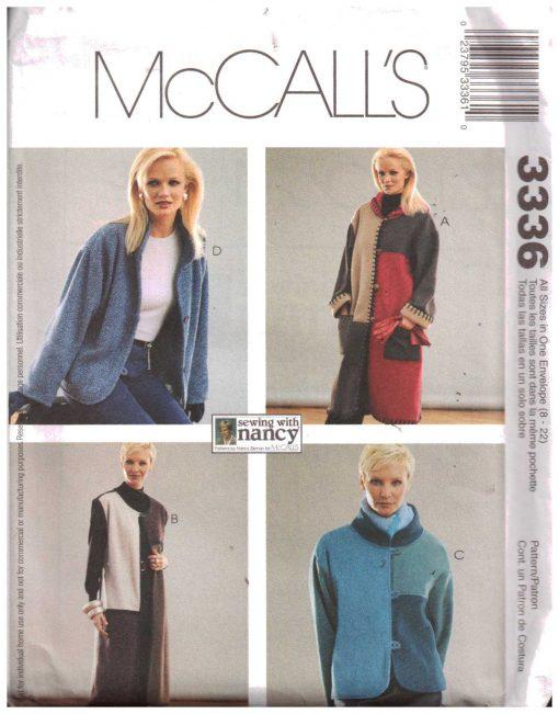 McCalls 3336 M