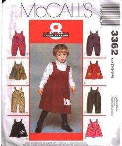 McCalls 3362 M