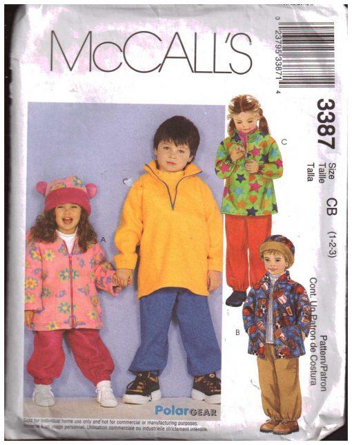 McCalls 3387 M