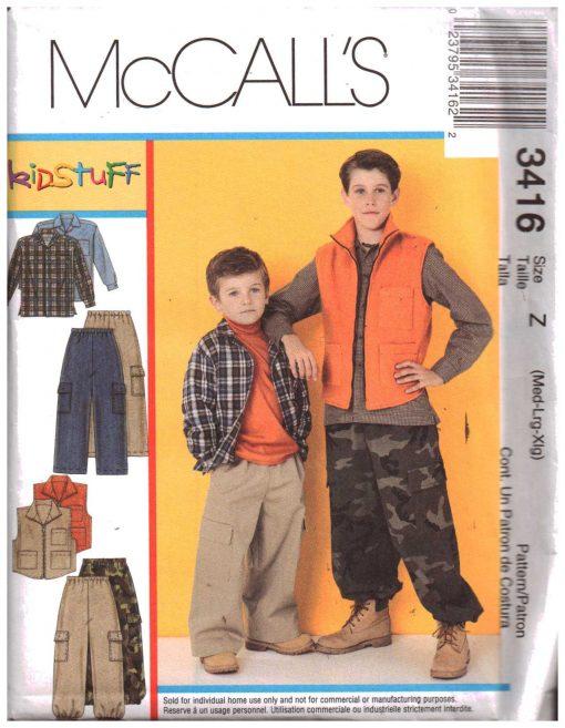McCalls 3416 M