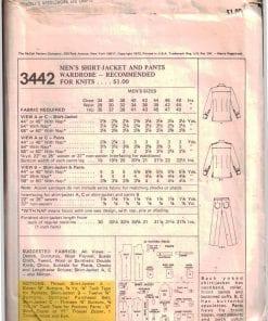 McCalls 3442 M 1
