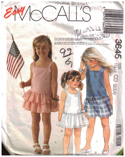 McCalls 3645 M