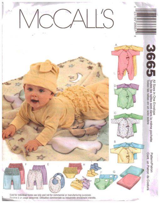 McCalls 3665 M
