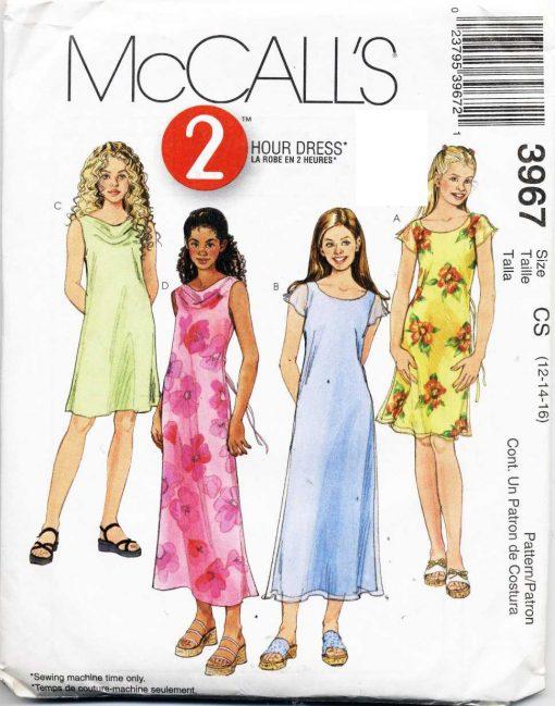 McCalls 3967