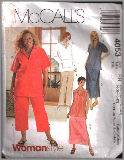 McCalls 4053 M