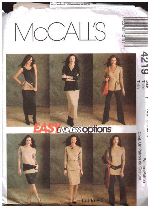 McCalls 4219