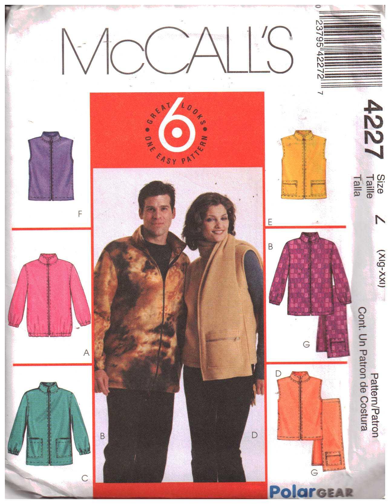 McCalls 4227 M