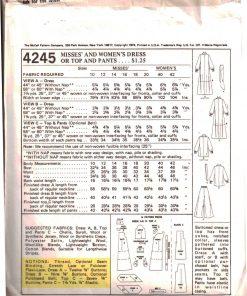 McCalls 4245 M 1