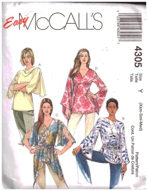 McCalls 4305 M