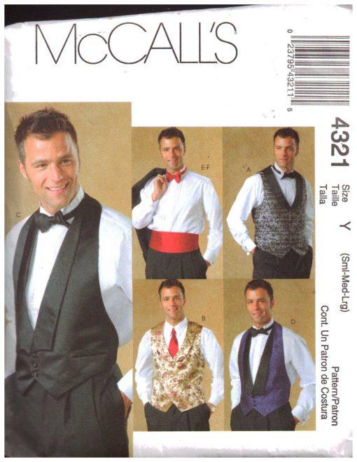 McCalls 4321 M