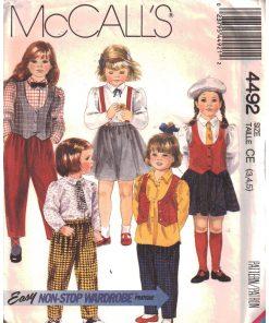 McCalls 4492 M