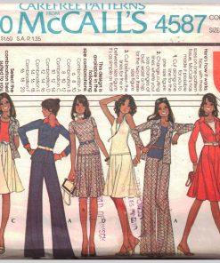McCalls 4587 M