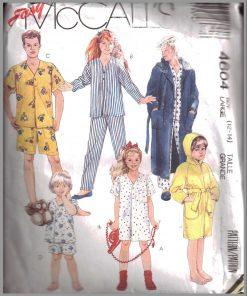 Sleepwear & Loungewear Sewing Patterns