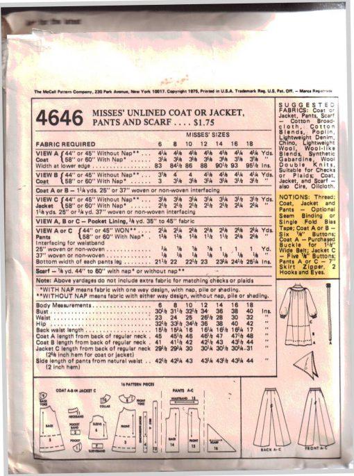McCalls 4646 M 1