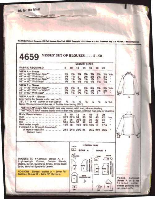 McCalls 4659 1