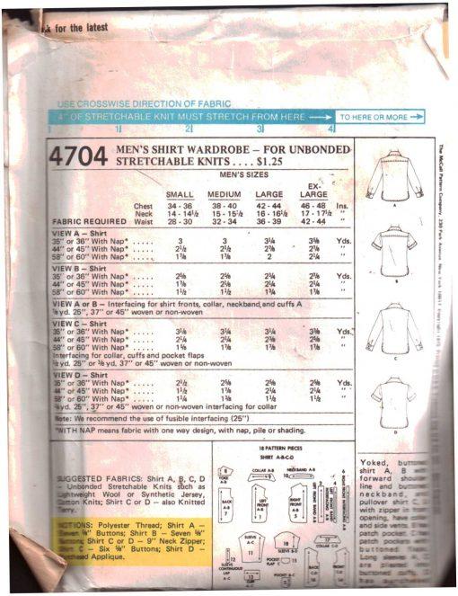 McCalls 4704 M 1