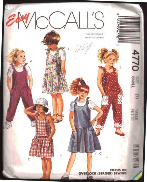 McCalls 4770 M