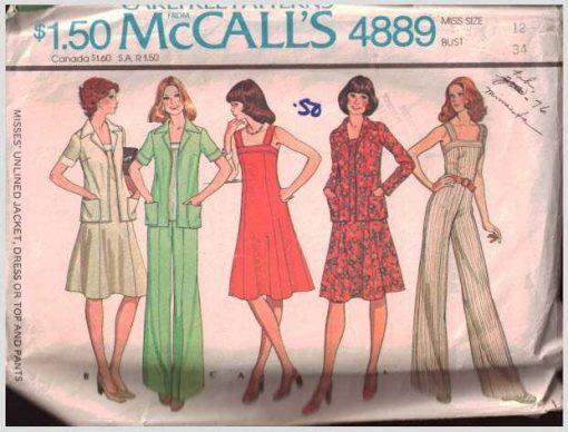McCalls 4889