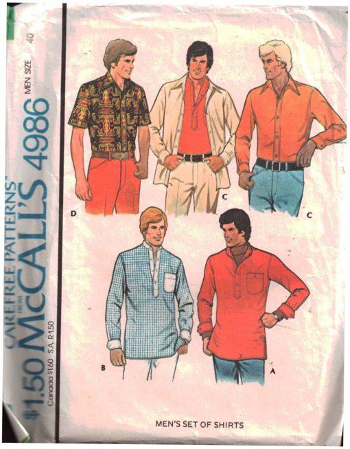 McCalls 4986 M