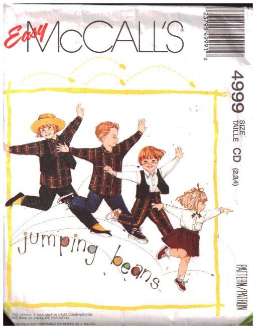 McCalls 4999 M
