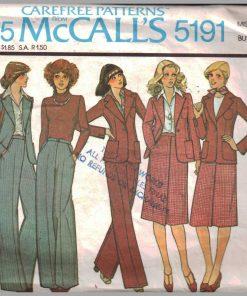 McCalls 5191 M