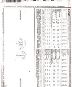 McCalls 5260 M 1