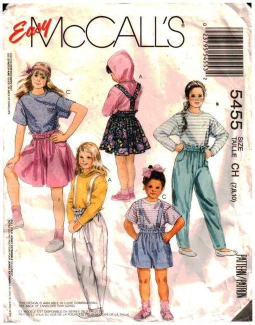 McCalls 5455