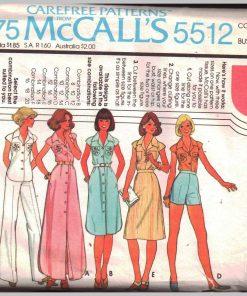 McCalls 5512 M