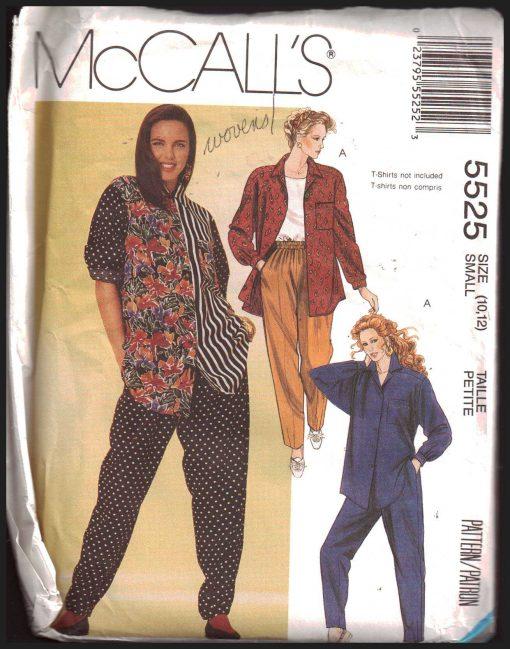 McCalls 5525 M