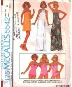 Swimwear & Cover-Ups Sewing Patterns