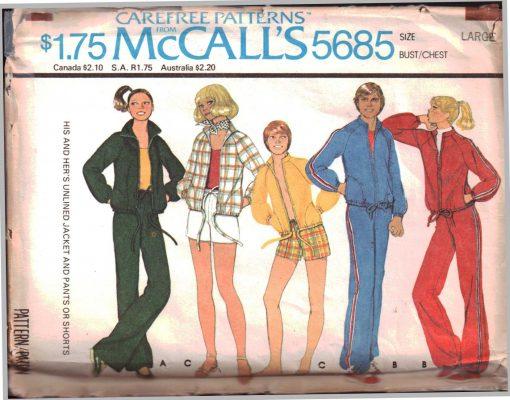 McCalls 5685 M