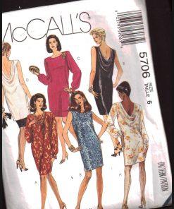 McCalls 5706 M