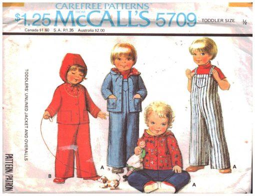 McCalls 5709 M