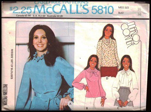 McCalls 5810 M
