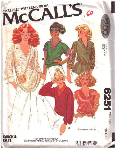 McCalls 6251