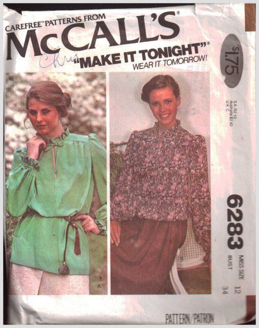 McCalls 6283 M