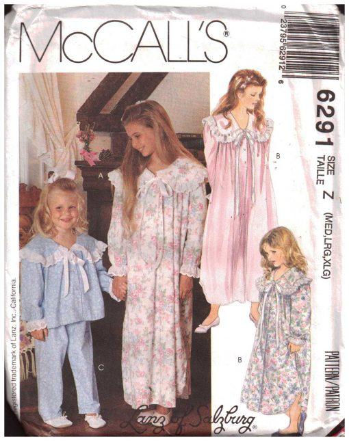 McCalls 6291 M