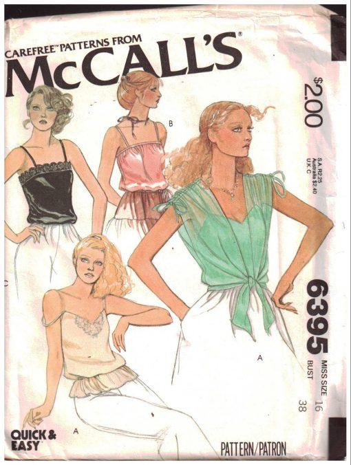 McCalls 6395 M