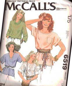 McCalls 6519 M