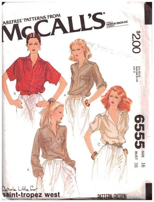 McCalls 6555 M